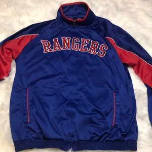 New York Rangers Track Jacket